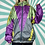 Thumbnail: Purple Retro Windbreaker