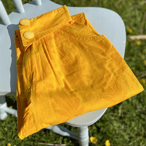 Vintage Yellow Weed Pants