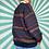 Thumbnail: Navy Funky Knit Jumper