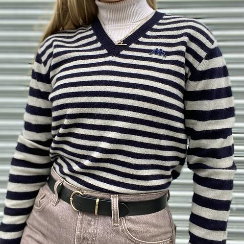 Vintage Kappa Wool V-Neck