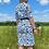 Thumbnail: Blue Leopard Print Dress