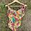 Thumbnail: Gold Floral Vintage Swimsuit