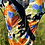 Thumbnail: Vintage Black Floral Swimsuit