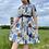 Thumbnail: Blue Collared Midi Dress