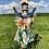 Thumbnail: Grey Floral Swimsuit