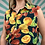 Thumbnail: Vintage Fruit Pattern Blouse