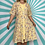 Thumbnail: Yellow Floral Midi Dress