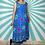 Thumbnail: Blue Midi Shift Dress