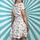 Thumbnail: Cream Floral Mini Dress