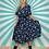 Thumbnail: Navy Floral Midi Dress