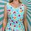 Thumbnail: Blue Floral Maxi Dress