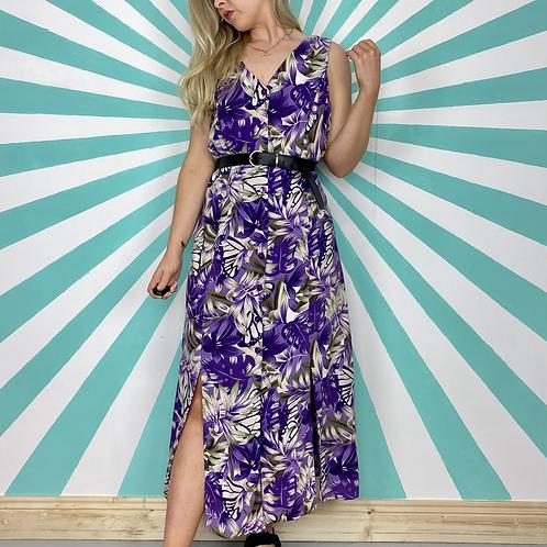 Purple Hawaiian Dress