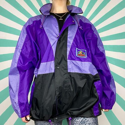 Purple Funky Rain Jacket