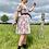 Thumbnail: Pink Floral Summer Dress