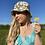 Thumbnail: Khaki Floral Bucket Hat