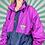 Thumbnail: Navy / Pink Rain Jacket