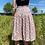 Thumbnail: Pink Floral Midi Skirt