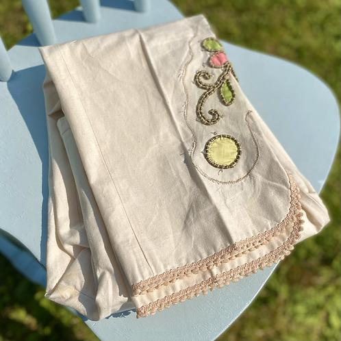 Moschino Cream Cropped Pants