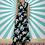 Thumbnail: Black Floral Maxi Dress