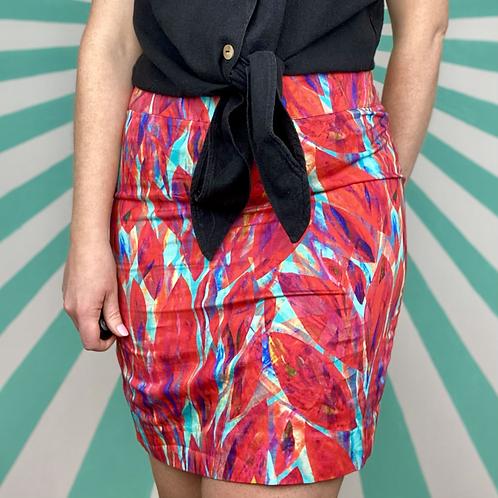 Pink Retro Mini Skirt