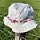 Thumbnail: Red Floral Bucket Hat