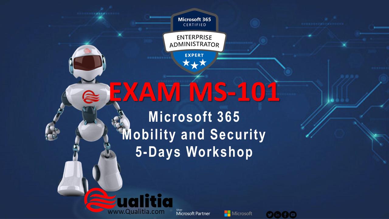 MS-101 | 5-Days Workshop