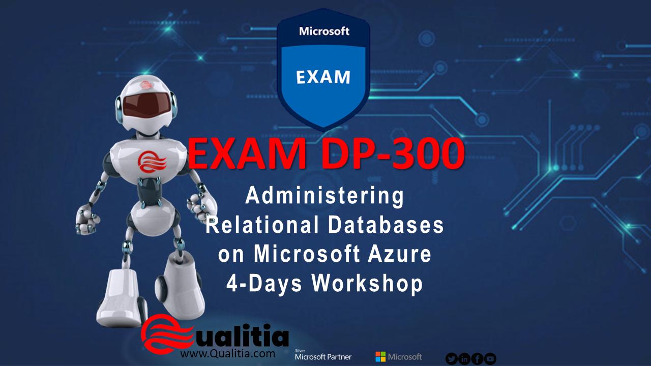 DP-300 | 4-Days Workshop