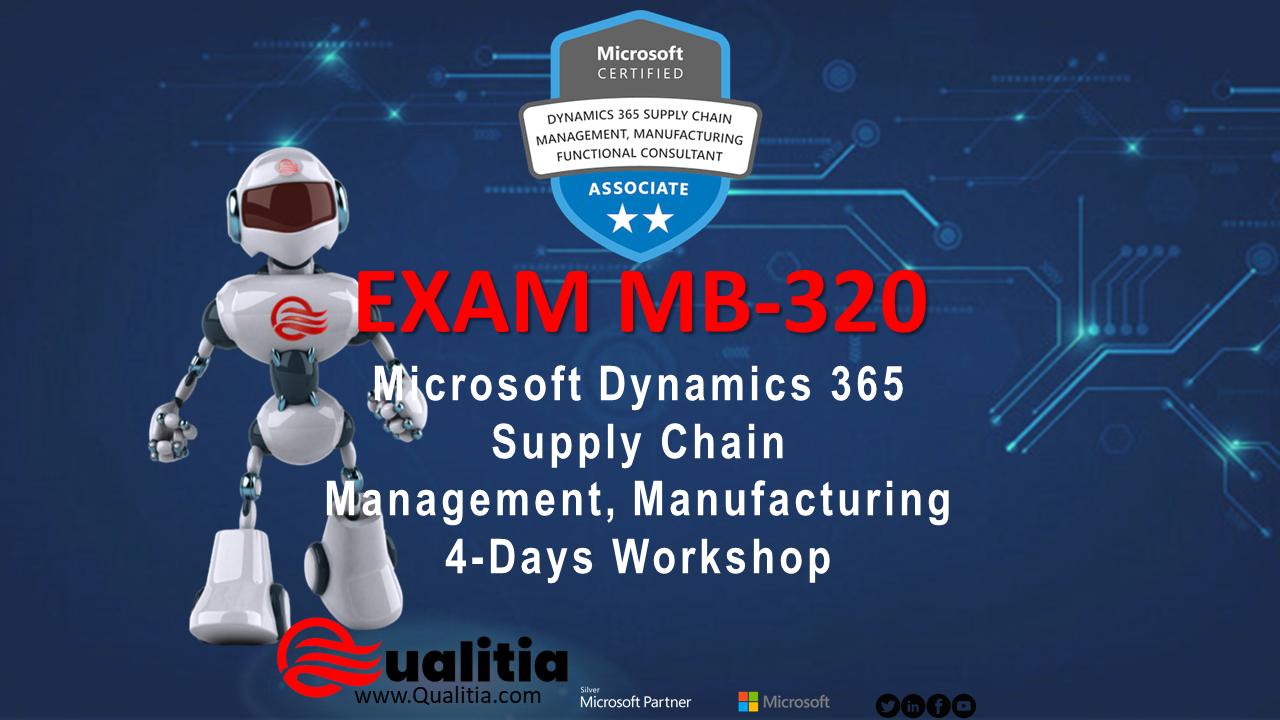 MB-320   4-Days Workshop