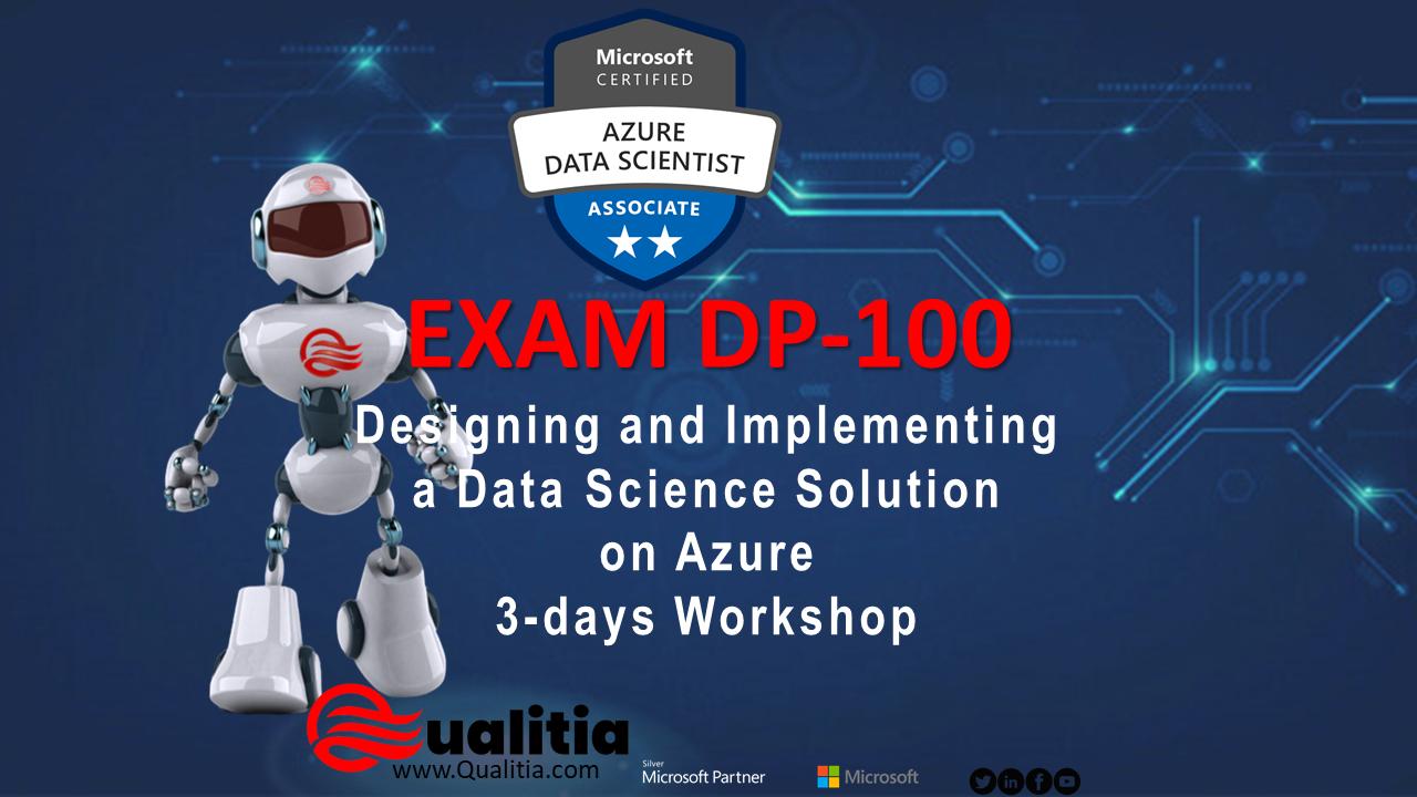 DP-100 | 3-Days Workshop