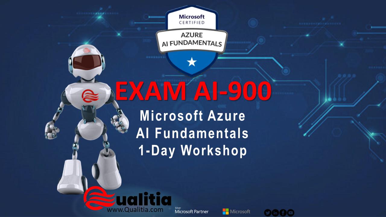 AI-900 | 1-Day Workshop