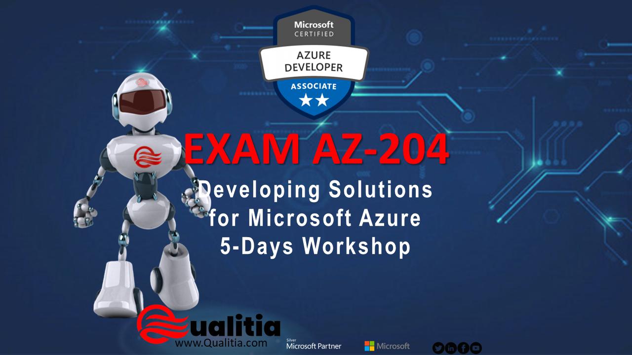 AZ-204 | 5-Days Workshop
