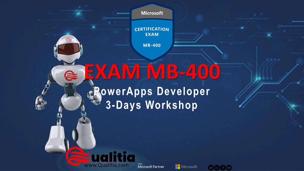 MB-400   3-Days Workshop