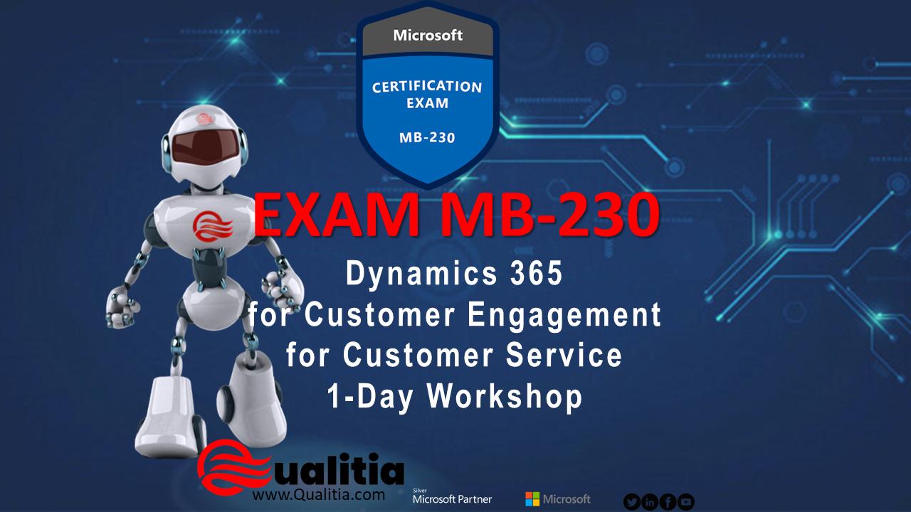MB-230   1-Day Workshop