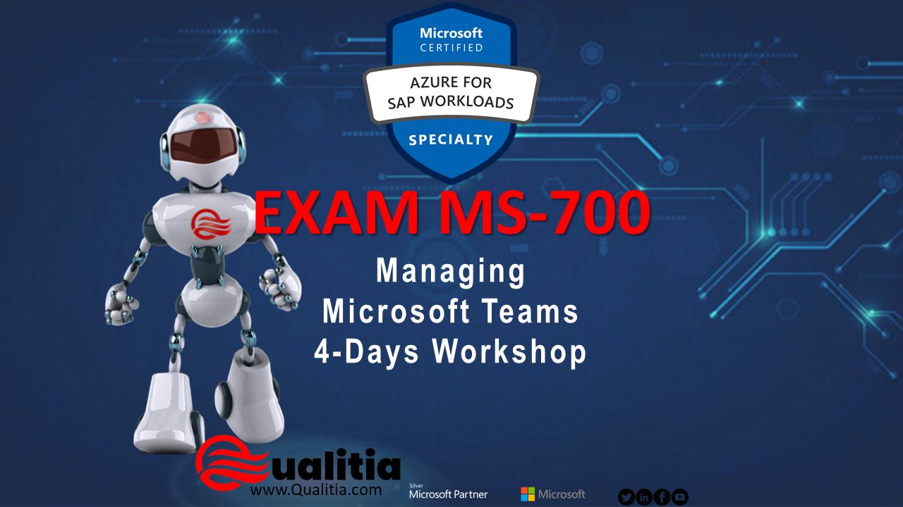 MS-700 | 4-Days Workshop