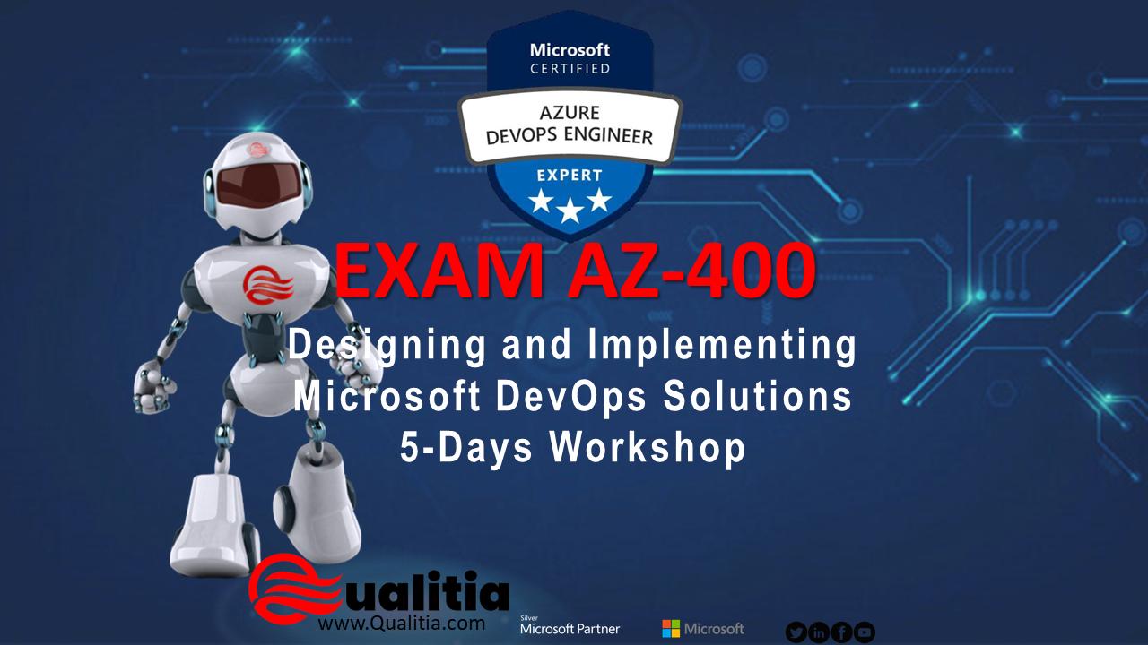 AZ-400   5-Days Workshop