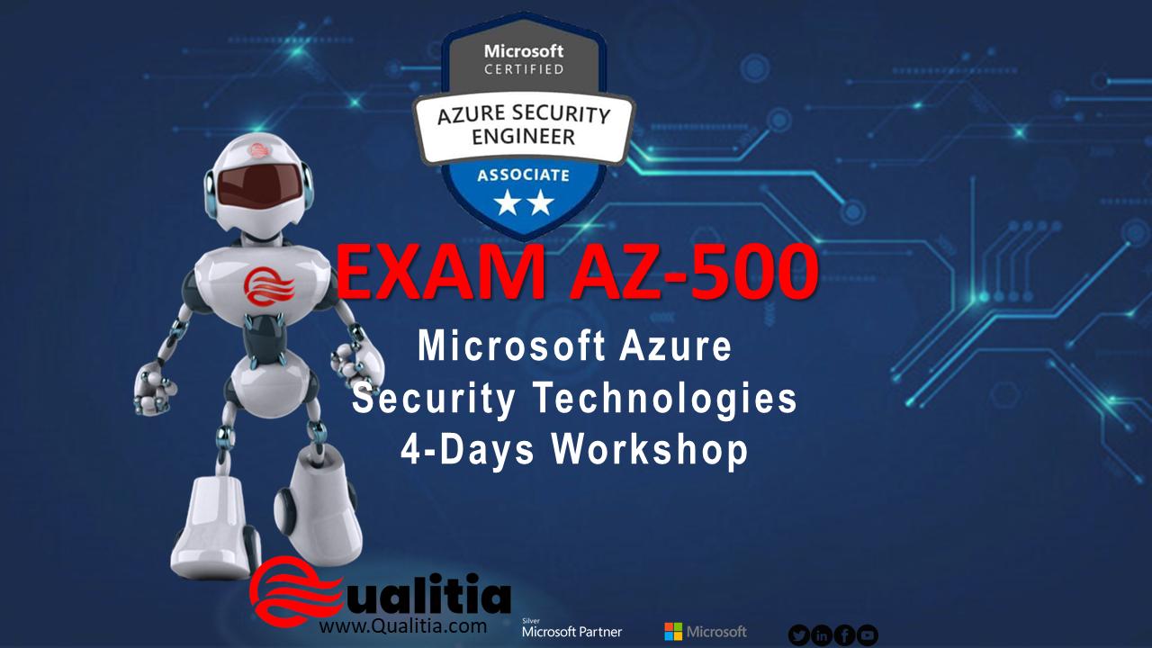 AZ-500 | 4-Days Workshop