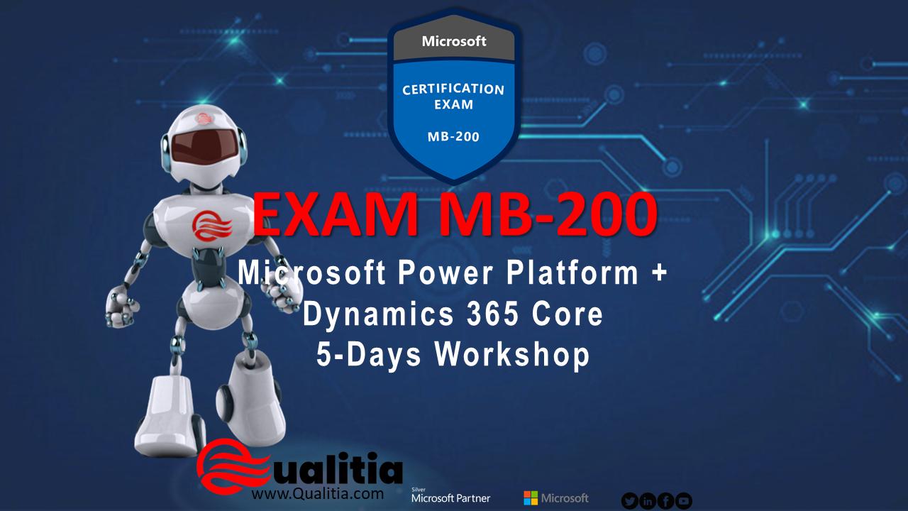 MB-200 | 5-Days Workshop