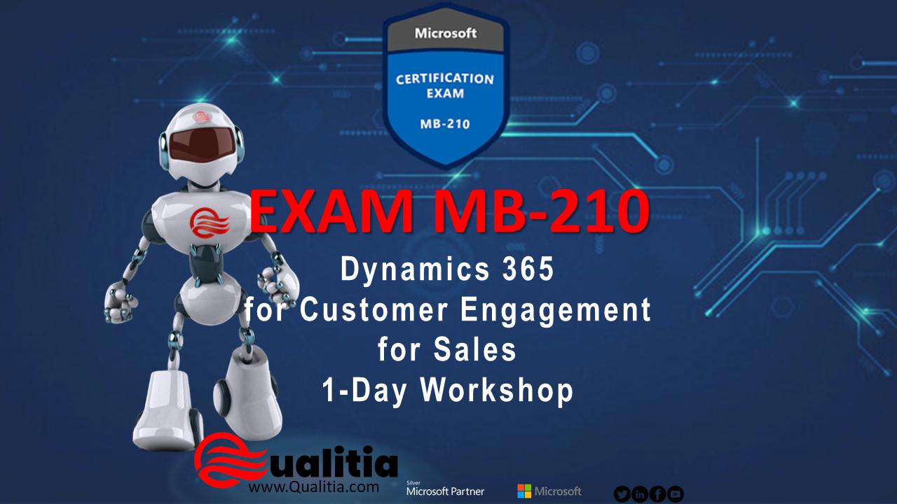 MB-210 | 1-Day Workshop