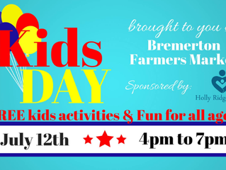 Kids Day at the Bremerton Farmers Market