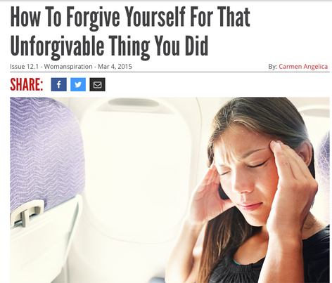 Reductress Article: How To Forgive Yourself For That Unforgiveable Thing You Did