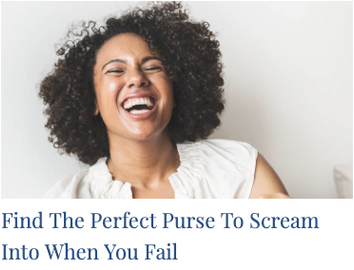 Find The Perfect Purse To Scream Into When You Fail