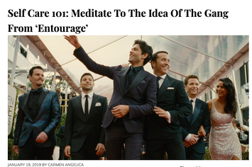 BunnyEars Article: Meditate To The Idea Of The Gang From Entourage