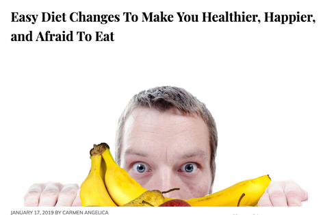 BunnyEars Article: Easy Diet Changes To Make You Healthier, Happier, and Afraid To Eat