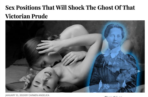 BunnyEars Article: Sex Positions That Will Shock The Ghost Of That Victorian Prude