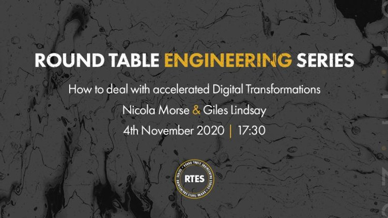 """Round Table Engineering Series: """"How to deal with accelerated Digital Transformations"""""""