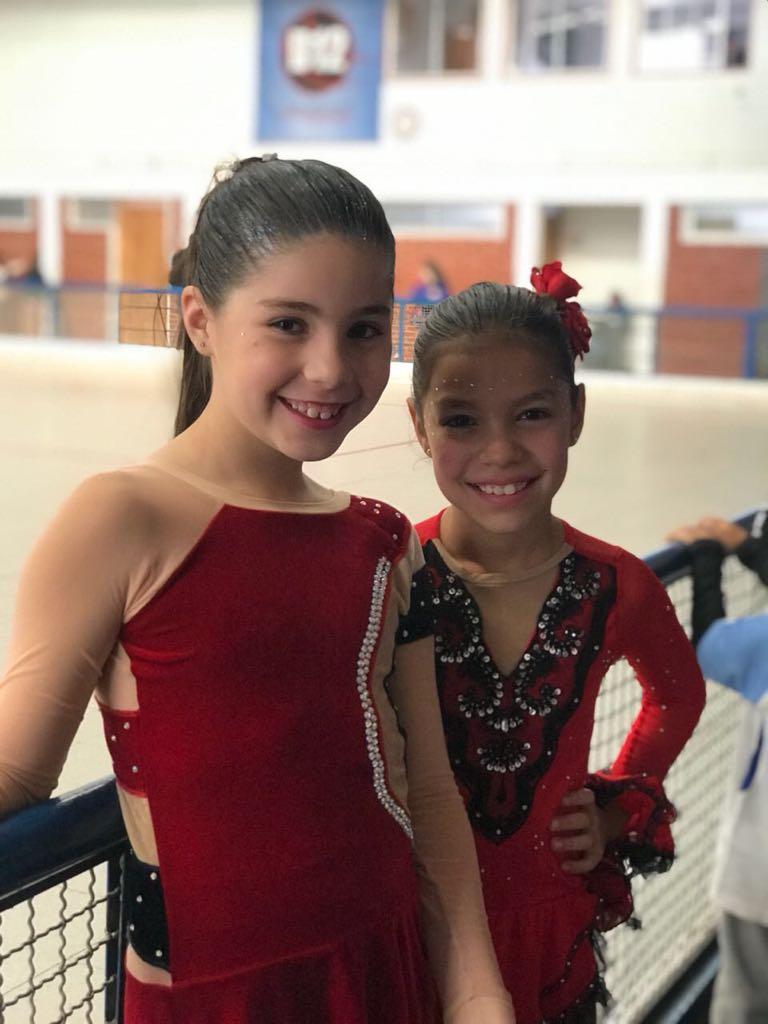 Alessia y Julieta.