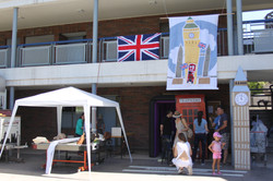 Kermesse: Stand Inglaterra