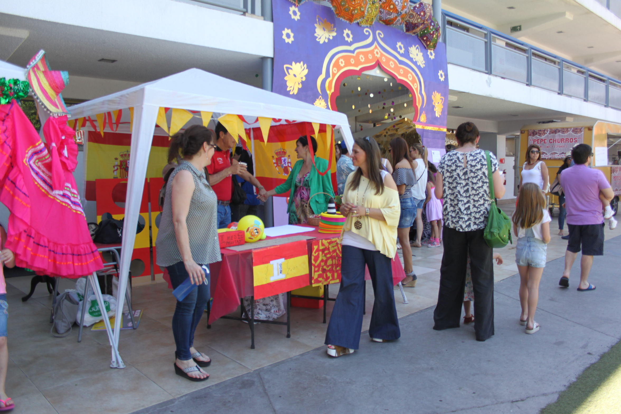 Kermesse: Stand España