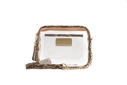 'K'lear Box with Tassel Stadium Klutch ~ Python