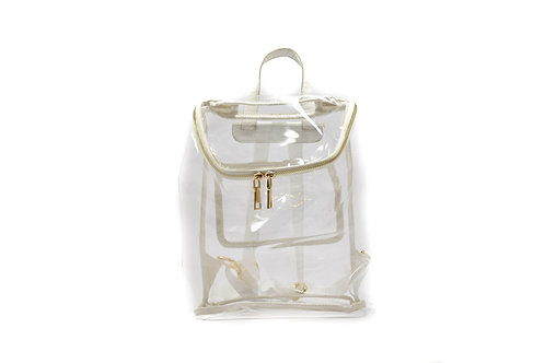 'K'lear Mini Backpack ~ Pearl White